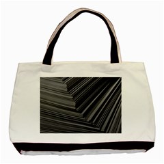Paper Low Key A4 Studio Lines Basic Tote Bag (two Sides) by BangZart