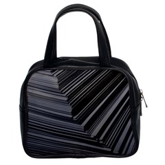 Paper Low Key A4 Studio Lines Classic Handbags (2 Sides)