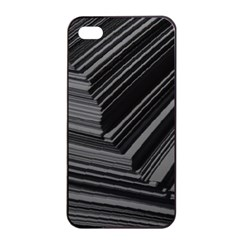 Paper Low Key A4 Studio Lines Apple Iphone 4/4s Seamless Case (black) by BangZart