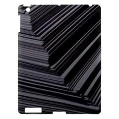 Paper Low Key A4 Studio Lines Apple Ipad 3/4 Hardshell Case by BangZart