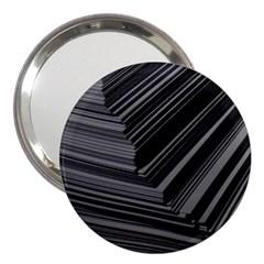 Paper Low Key A4 Studio Lines 3  Handbag Mirrors by BangZart