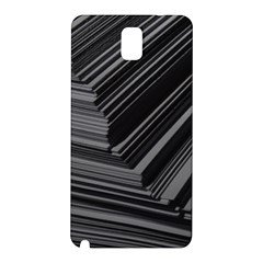 Paper Low Key A4 Studio Lines Samsung Galaxy Note 3 N9005 Hardshell Back Case