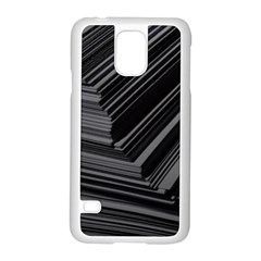 Paper Low Key A4 Studio Lines Samsung Galaxy S5 Case (white) by BangZart