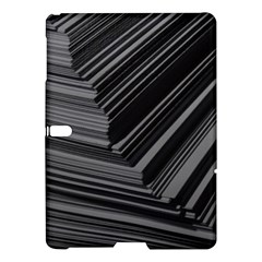 Paper Low Key A4 Studio Lines Samsung Galaxy Tab S (10 5 ) Hardshell Case  by BangZart