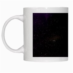 The Northern Lights Nature White Mugs by BangZart