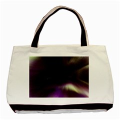 The Northern Lights Nature Basic Tote Bag by BangZart