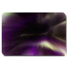 The Northern Lights Nature Large Doormat  by BangZart