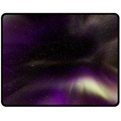 The Northern Lights Nature Fleece Blanket (medium)  by BangZart