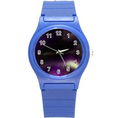 The Northern Lights Nature Round Plastic Sport Watch (s) by BangZart