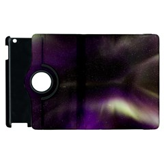 The Northern Lights Nature Apple Ipad 3/4 Flip 360 Case by BangZart