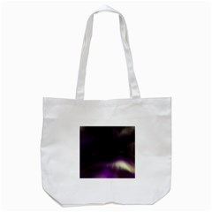The Northern Lights Nature Tote Bag (white) by BangZart
