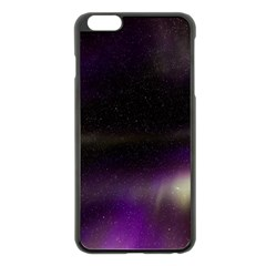 The Northern Lights Nature Apple Iphone 6 Plus/6s Plus Black Enamel Case by BangZart