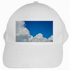 Sky Clouds Blue White Weather Air White Cap by BangZart