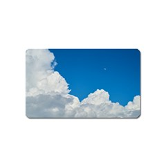 Sky Clouds Blue White Weather Air Magnet (name Card)
