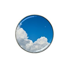 Sky Clouds Blue White Weather Air Hat Clip Ball Marker (10 Pack) by BangZart