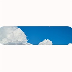 Sky Clouds Blue White Weather Air Large Bar Mats by BangZart