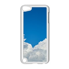 Sky Clouds Blue White Weather Air Apple Ipod Touch 5 Case (white) by BangZart