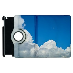 Sky Clouds Blue White Weather Air Apple Ipad 3/4 Flip 360 Case by BangZart