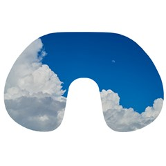 Sky Clouds Blue White Weather Air Travel Neck Pillows