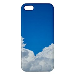 Sky Clouds Blue White Weather Air Iphone 5s/ Se Premium Hardshell Case by BangZart