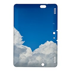 Sky Clouds Blue White Weather Air Kindle Fire Hdx 8 9  Hardshell Case by BangZart