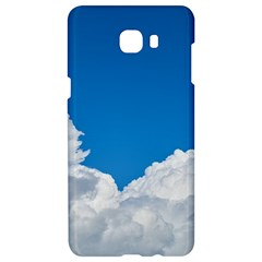 Sky Clouds Blue White Weather Air Samsung C9 Pro Hardshell Case  by BangZart