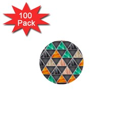 Abstract Geometric Triangle Shape 1  Mini Buttons (100 Pack)  by BangZart