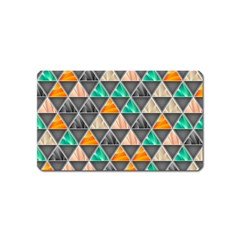 Abstract Geometric Triangle Shape Magnet (name Card) by BangZart