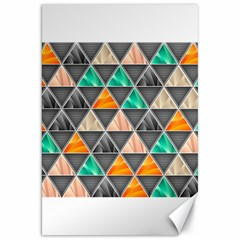 Abstract Geometric Triangle Shape Canvas 20  X 30   by BangZart