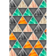 Abstract Geometric Triangle Shape 5 5  X 8 5  Notebooks by BangZart