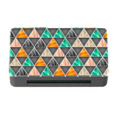 Abstract Geometric Triangle Shape Memory Card Reader With Cf