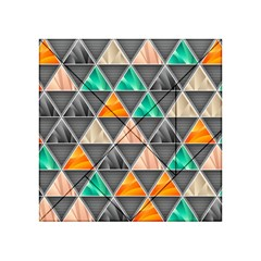 Abstract Geometric Triangle Shape Acrylic Tangram Puzzle (4  X 4 ) by BangZart