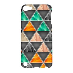 Abstract Geometric Triangle Shape Apple Ipod Touch 5 Hardshell Case by BangZart