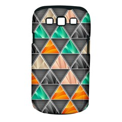 Abstract Geometric Triangle Shape Samsung Galaxy S Iii Classic Hardshell Case (pc+silicone) by BangZart