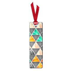 Abstract Geometric Triangle Shape Small Book Marks