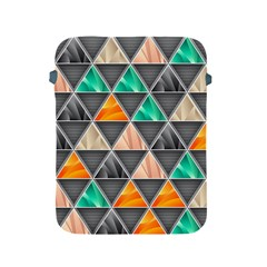Abstract Geometric Triangle Shape Apple Ipad 2/3/4 Protective Soft Cases by BangZart
