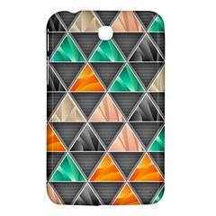 Abstract Geometric Triangle Shape Samsung Galaxy Tab 3 (7 ) P3200 Hardshell Case  by BangZart