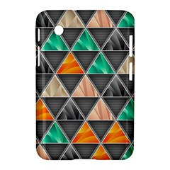 Abstract Geometric Triangle Shape Samsung Galaxy Tab 2 (7 ) P3100 Hardshell Case  by BangZart