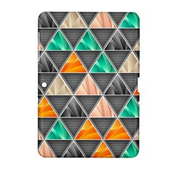 Abstract Geometric Triangle Shape Samsung Galaxy Tab 2 (10 1 ) P5100 Hardshell Case  by BangZart
