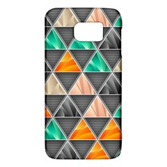 Abstract Geometric Triangle Shape Galaxy S6 by BangZart