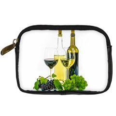 White Wine Red Wine The Bottle Digital Camera Cases by BangZart
