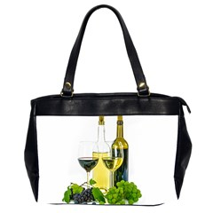 White Wine Red Wine The Bottle Office Handbags (2 Sides)
