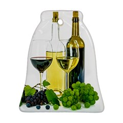 White Wine Red Wine The Bottle Ornament (bell)