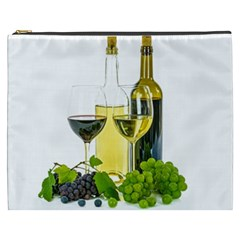 White Wine Red Wine The Bottle Cosmetic Bag (xxxl)  by BangZart