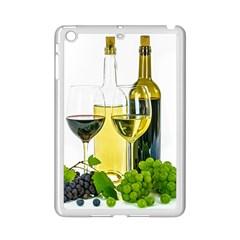 White Wine Red Wine The Bottle Ipad Mini 2 Enamel Coated Cases