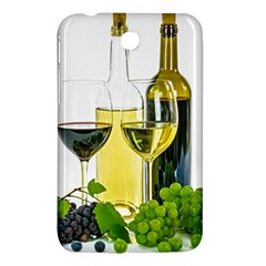 White Wine Red Wine The Bottle Samsung Galaxy Tab 3 (7 ) P3200 Hardshell Case  by BangZart