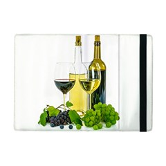 White Wine Red Wine The Bottle Ipad Mini 2 Flip Cases