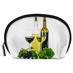 White Wine Red Wine The Bottle Accessory Pouches (large)