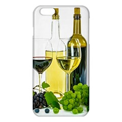 White Wine Red Wine The Bottle Iphone 6 Plus/6s Plus Tpu Case by BangZart