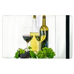 White Wine Red Wine The Bottle Apple Ipad Pro 9 7   Flip Case by BangZart